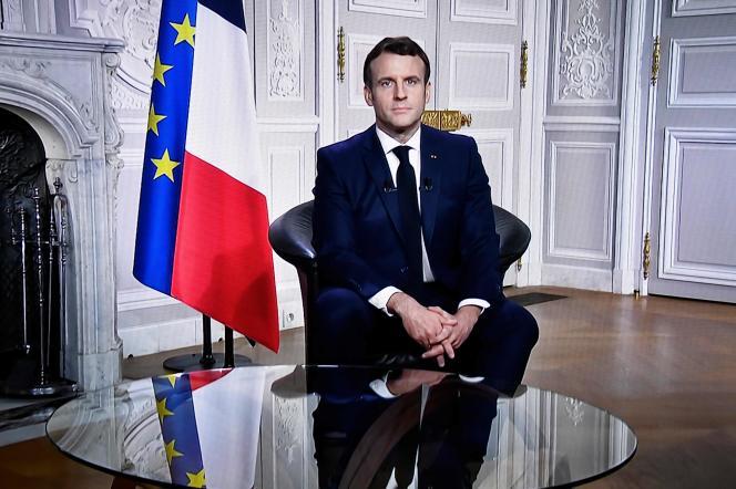 "Emmanuel Macron expresses ""wishes of hope"" for 2021"