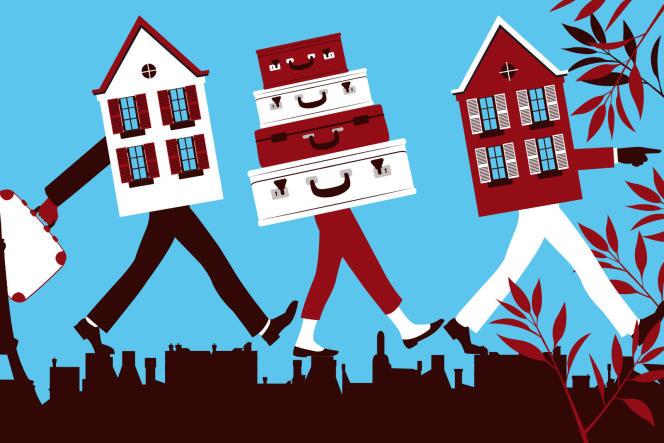 En 2020, l'immobilier amorce un lent rééquilibrage des grandes villes vers les périphéries et les villes moyennes