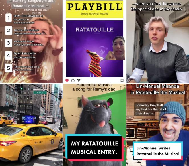 Des milliers de créateurs de vidéos sur TikTok apportent leur soutien et leur contribution au projet «Ratatouille : A TikTok Musical».