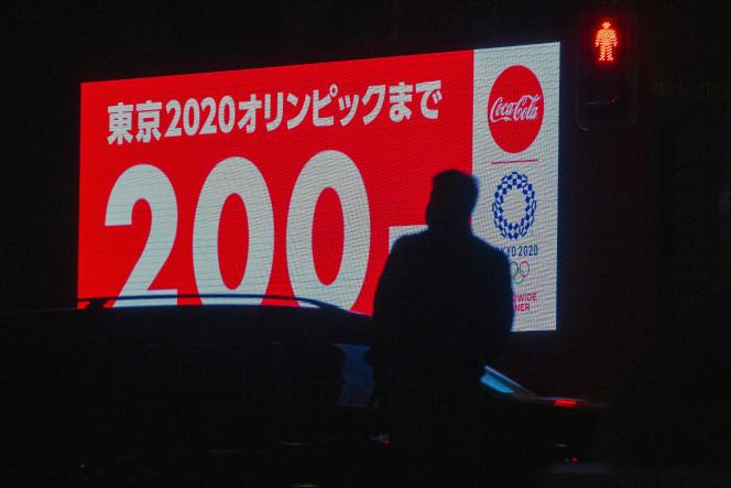 A Tokyo, le 4 janvier 2021, à 200jours de l'ouverture des Jeux olympiques.