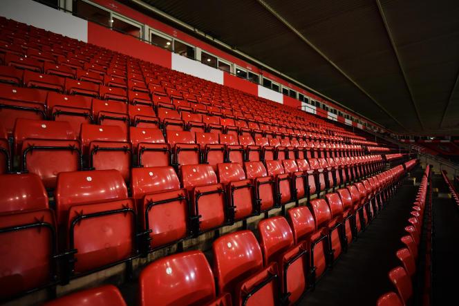 Au St. Mary's Stadium de Southampton, en Angleterre, le 29 décembre 2020.