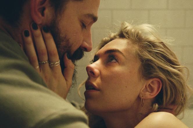 Shia LaBeouf (Sean) et Vanessa Kirby (Martha) dans« Pieces of a Woman» (2020), deKornel Mundruczo.