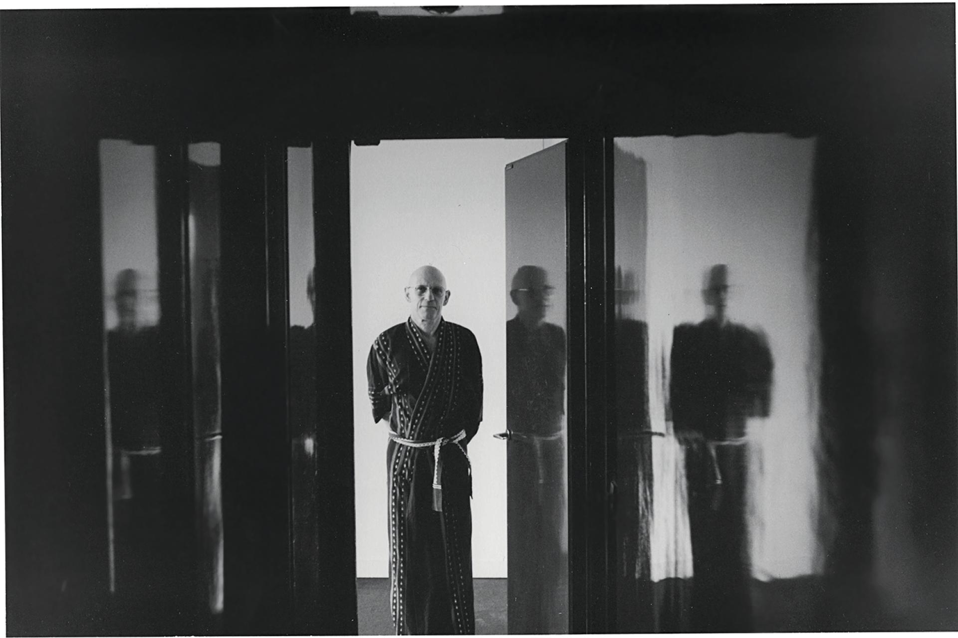 «Michel», 1981. Le philosophe Michel Foucault, mentor et ami d'Hervé Guibert.