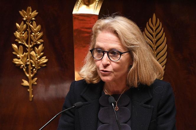 Laure de La Raudière, députée Agir, à l'Assemblée nationale, en avril 2020.