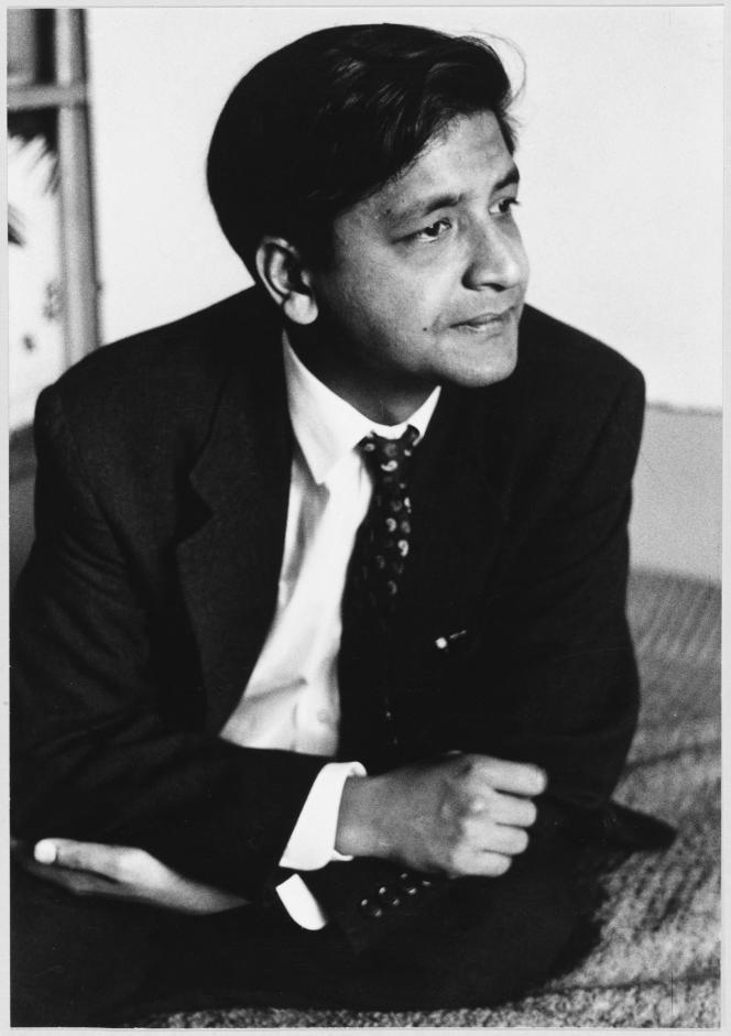 L'écrivain V. S. Naipaul (1932-2018), en 1961.