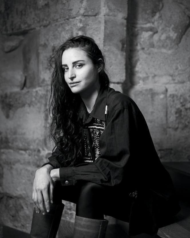 Jade Genin, à Paris, le 16 décembre 2020.