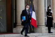 Le ministre de l'économie, Bruno Le Maire, à l'Elysée, le 6 janvier 2021.