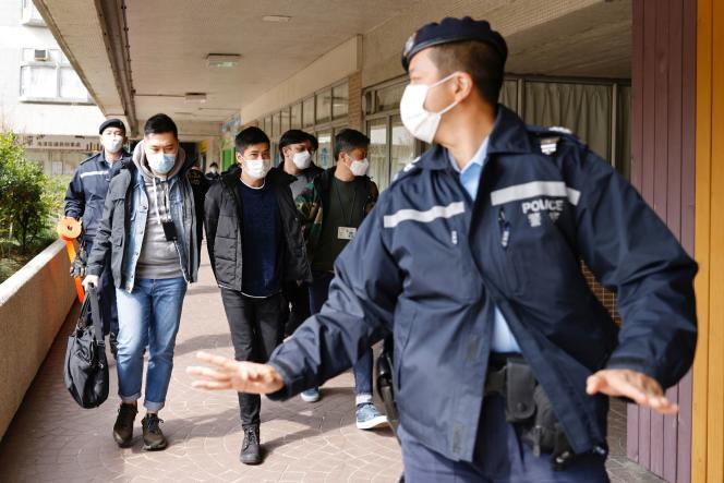 Le militant prodémocratie Lester Shum, arrêté le 6 janvier à Hongkong.
