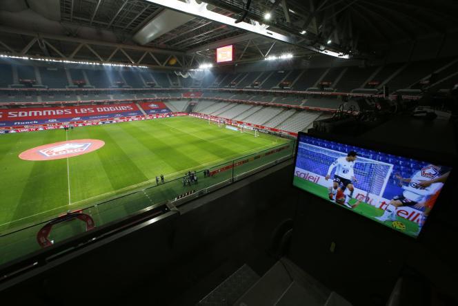 Les matchs du championnat de France continuent de se dérouler à huis clos.
