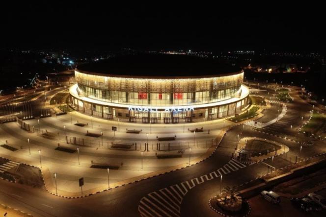 کیگالی آرنا در رواندا ، جایی که Afrobasket از 24 آگوست تا 5 سپتامبر در آن برگزار می شود.