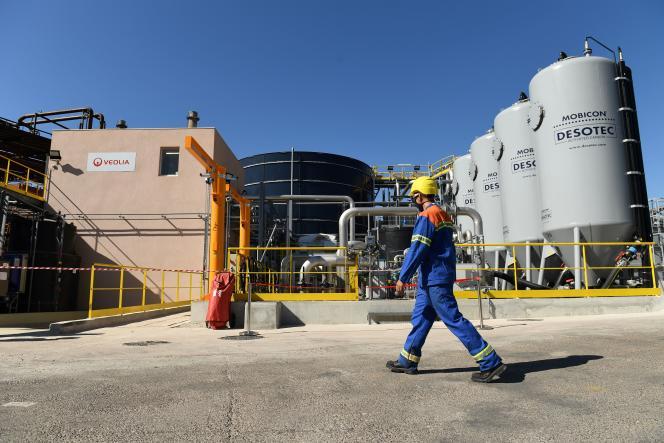Fábrica de Alteo en Gardanne, 4 de septiembre de 2020.