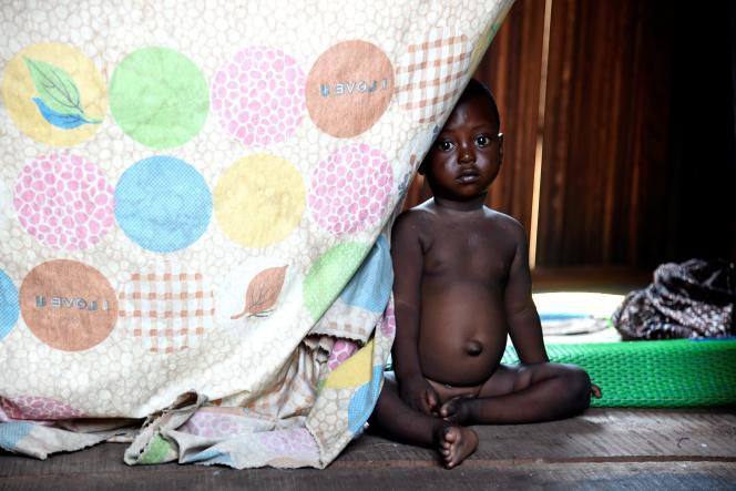 Dans le bidonville de Makoko, à Lagos, en novembre 2020.