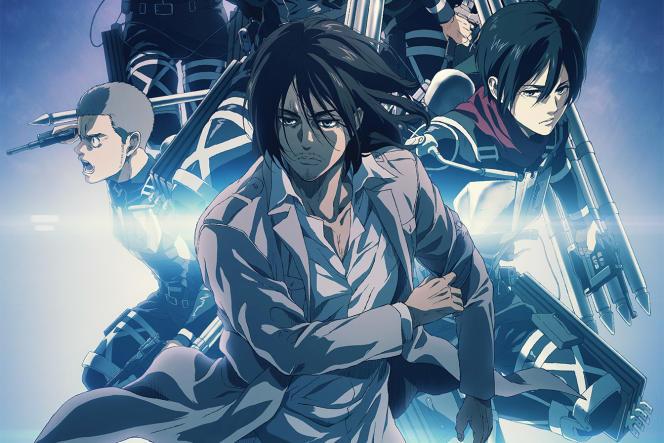 L'affiche de la quatrième et dernière de «Shingeki no Kyojin»(«L'Attaque des Titans»).