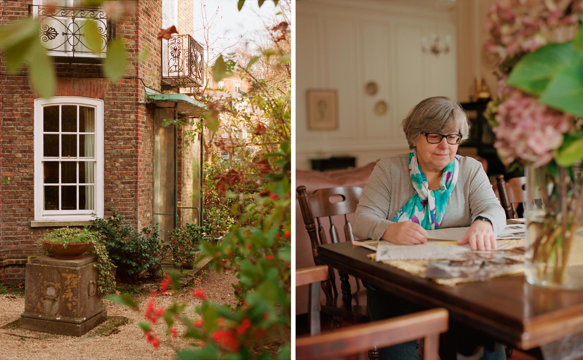 La maison où les De Gaulle ont vécu, à Hampstead, à partir de 1942, est devenue le couvent St Dorothy à partir de 1968. Sœur Paula, responsable du couvent, se passionne pour l'héritage du général de Gaulle et rassemble documents historiques et souvenirs.