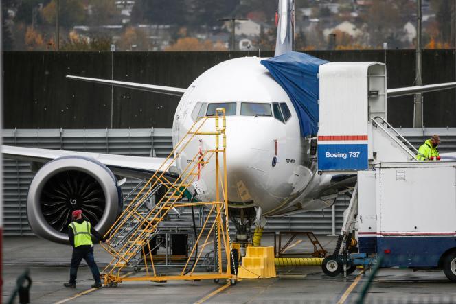 Un Boeing 737 à l'aéroport de Renton (Washington), le 10 novembre 2020.