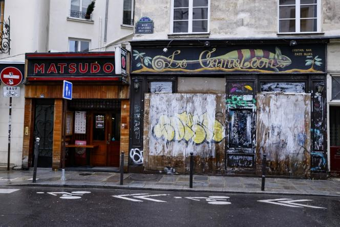 رستوران در 5 ژانویه در پاریس بسته شد.