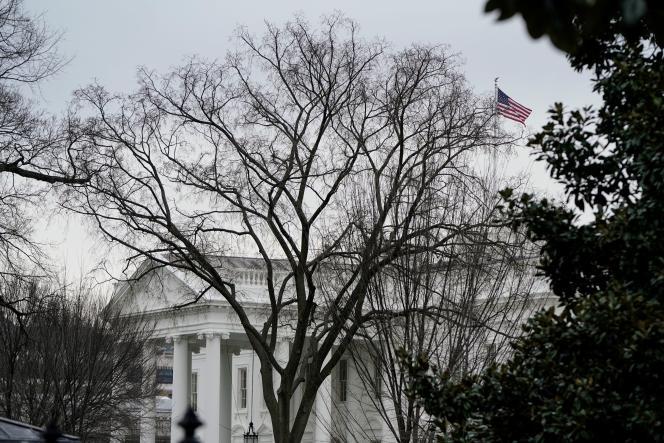 La Maison Blanche, le 8 janvier.