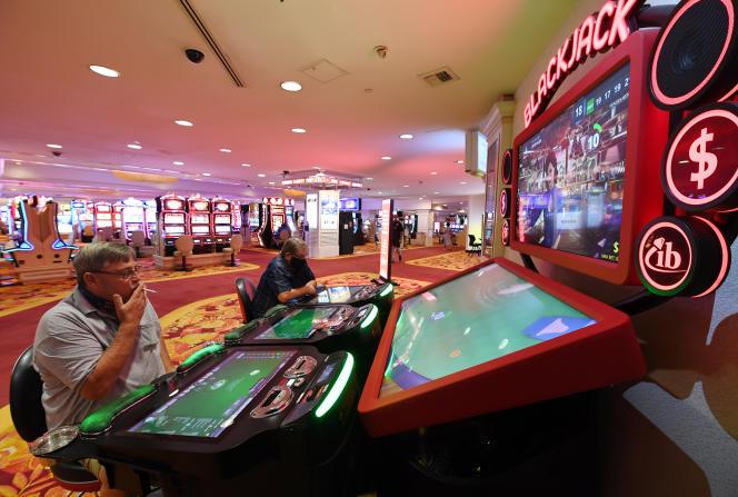 A l'hôtel-casino Le Tropicana de Las Vegas, en septembre 2020.