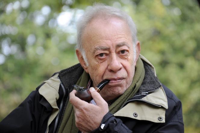 L'écrivain Vassilis Alexakis, en2012, à Paris.