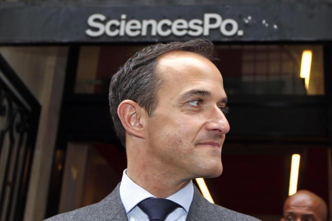 Le directeur de Sciences Po, Frédéric Mion, à Paris, le 28 mai 2013.