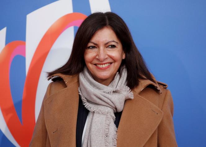 Anne Hidalgo, le 14 décembre à Paris.