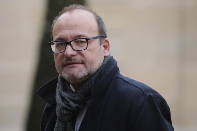 Le directeur général de l'Agence française de développement (AFD), Rémy Rioux, en 2019 à Paris.