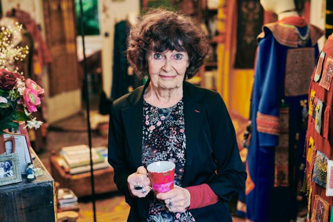 Eva Thomas, chez elle, à Grenoble, le 11 janvier.