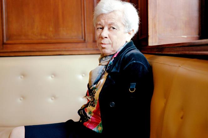 Léone-Noëlle Meyer, à Paris, en 2008.