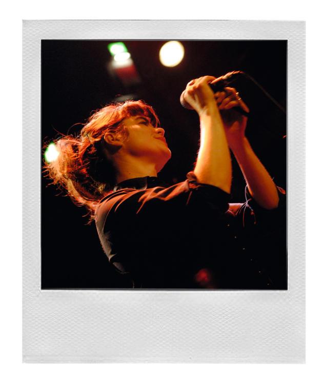La chanteuse Françoiz Breut.