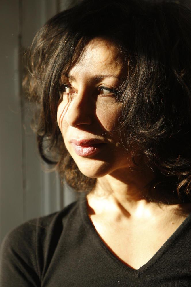 L'écrivaine Yasmina Reza, à Paris, en 2010.
