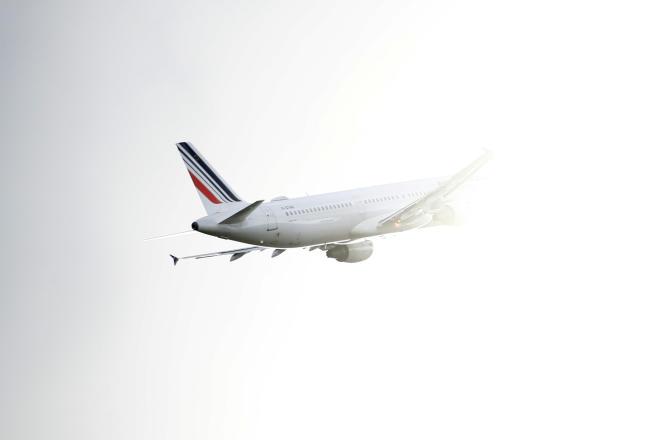 Un Airbus A321 d'Air France au décollage, à l'aéroport de Toulouse-Blagnac, le 18 juin 2020.