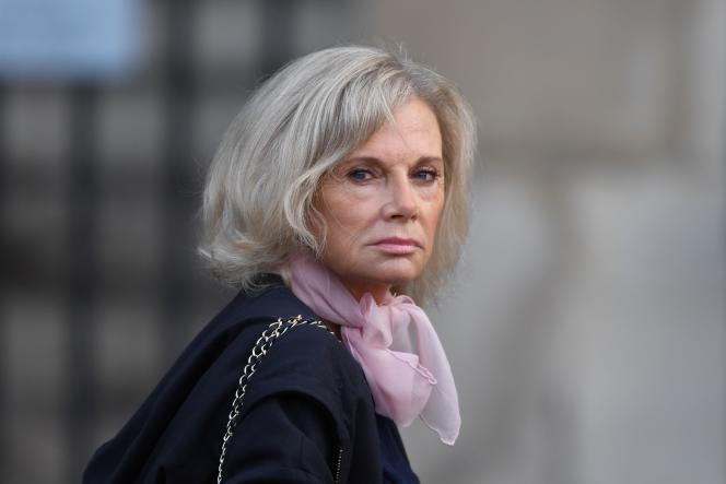 Elisabeth Guigou à Paris le 30 septembre 2019.
