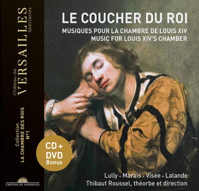 Pochette de l'album «Le Coucher du roi – Musiques pour la chambre de Louis XIV».