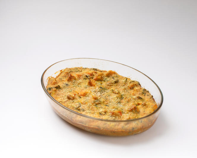 Le clafoutis aux légumes de Prune Nourry.