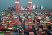 Dans le port de Lianyungang (Chine), le 14 janvier 2021.