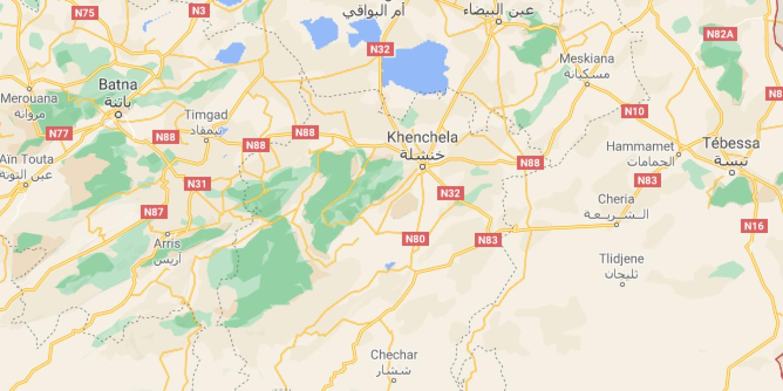 Cinq civils tués en Algérie par l'explosion d'une bombe artisanale dans la région de Tébessa
