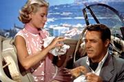 Grace Kelly et Cary Grant dans «La Main au collet», d'Alfred Hitchcock.
