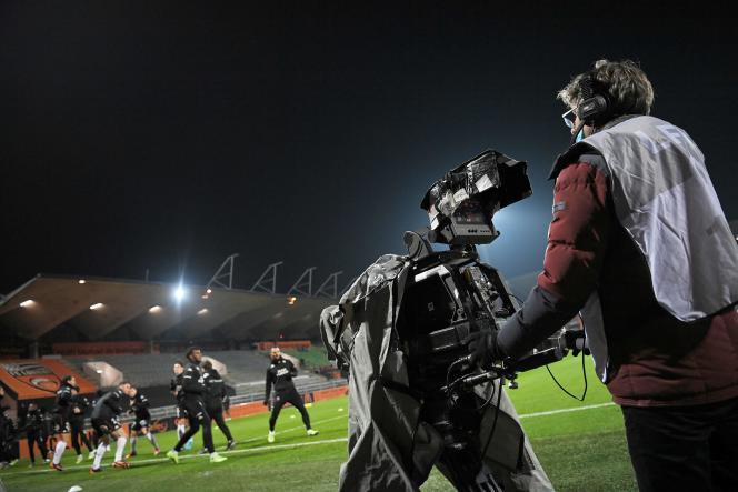 Au stade de Lorient, le 6 janvier.