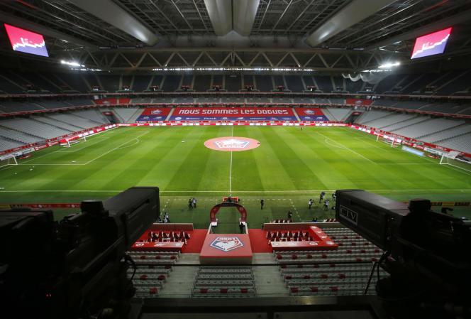 Les matchs de Ligue 1 et Ligue 2 se déroulent à huis clos depuis la reprise de la saison.