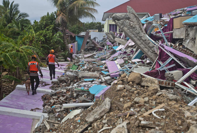 طی دو روز گذشته ، ده ها جسد بی جان از زیر آوار ساختمان های فروریخته در ماموجو خارج شده است.