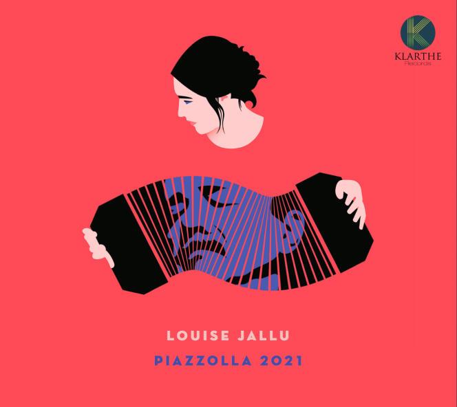 Pochette de l'album «Piazzolla 2021», de Louise Jallu.