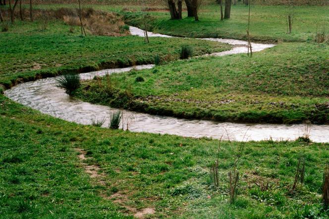 Promenade de la Bièvre entre Bièvres et Igny, en Essonne.