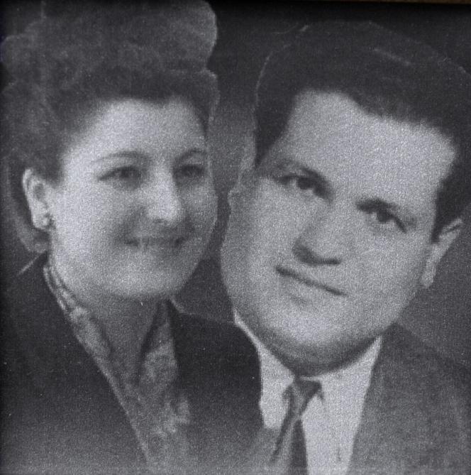 Photo non datée de l'avocat algérien Ali Boumendjel, assassiné en 1957, et de sa femme Malika.