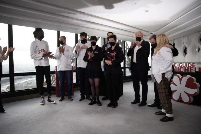 Les lauréats du guide Michelin 2021.