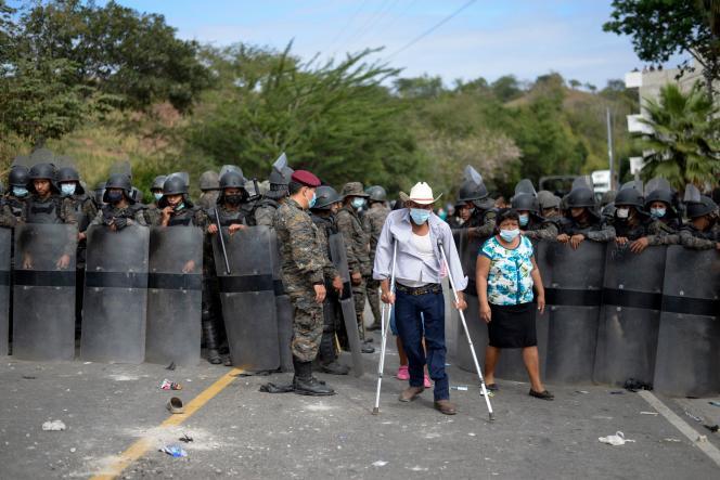 A Vado Hondo au Guatemala, le 17 janvier.