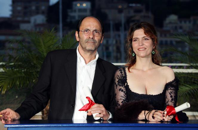 Agnès Jaoui et Jean-Pierre Bacri le 22 mai 2004.