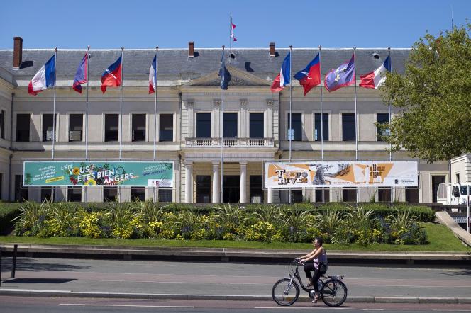La mairie d'Angers.