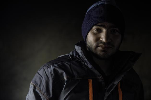 Aslan, un mineur afghan de 17 ans, a été refoulé vers la Bosnie par la police de Trieste (Italie) via la Slovénie et la Croatie, après avoir marché pendant dix-huit jours.