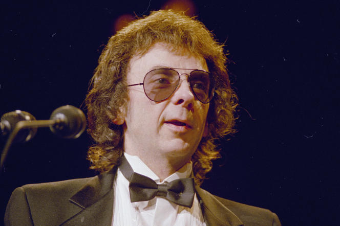 Phil Spector, en 1989.