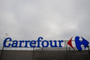 Une enseigne Carrefour, à Saint-Herblain (Loire-Atlantique), le 13 janvier.